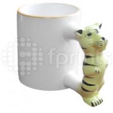 Чашка детская 'Тигр' с нанесением - Копи центр Меридиан.  Никополь.